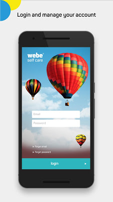 webe self care - screenshot