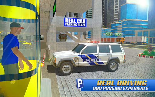 Police Car Parking: Police Jeep Driving Games apktram screenshots 10