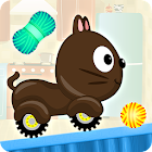 Kids Car Racing game - Beepzz Cats icon