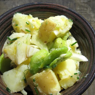 Potato Salad with Fava Beans and Fennel.