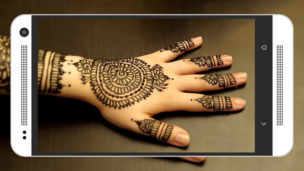 Mehndi design 2017 app download - Mehndi Design Latest 2017 Screenshot