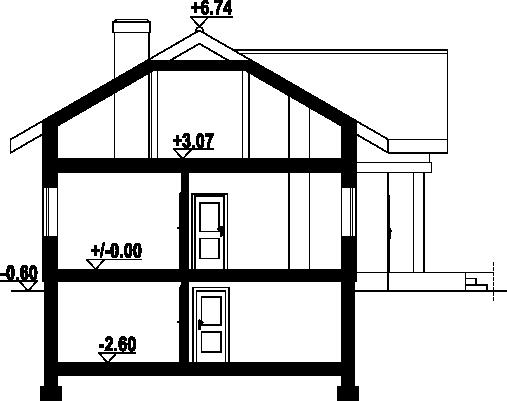 Chmielów m9 - Przekrój