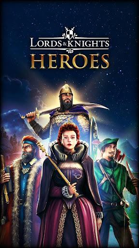 Code Triche Lords & Knights - MMO de stratu00e9gie mu00e9diu00e9val APK MOD screenshots 1