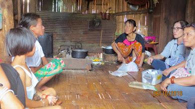 Photo: Kae Noi Inside Lahu house