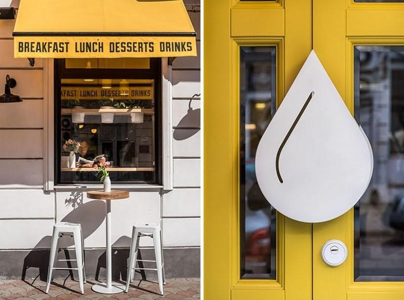 JK Lab Architects ha diseñado un nuevo café en Ucrania