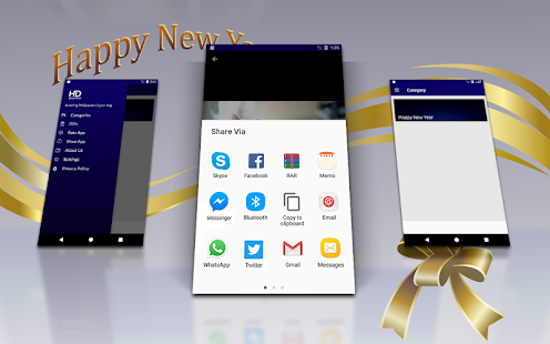 Best New Year Live Wallpaper 2018 - náhled