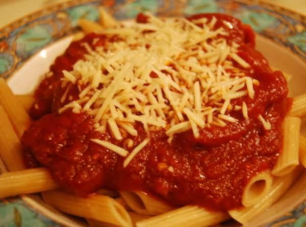 Son's Red Wine Pasta Sauce Recipe