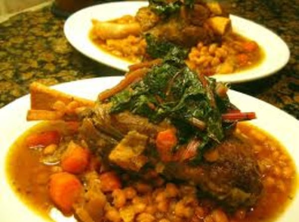 Middle Eastern Lamb And Bean Stew Recipe