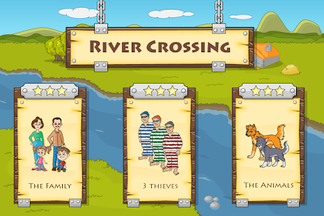 River Crossing : Logic Puzzles- screenshot thumbnail