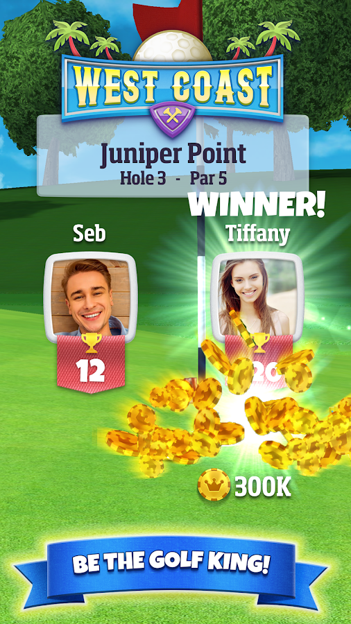 Screenshots of Golf Clash for iPhone