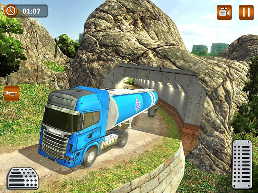 Offroad Oil Tanker Truck Transport Driver 1.6 screenshots 13