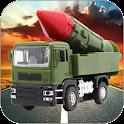 Warhead Transport Truck 3d icon