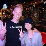 meeting Reformatt fans at Maharaja in Tokyo in Tokyo, Tokyo, Japan