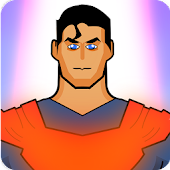 Superman Super Hero Runner