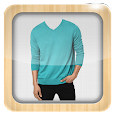 Man T-shirt Photo Suit icon