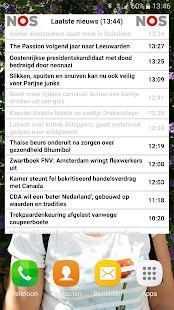 NOS Laatste Nieuws widget - náhled