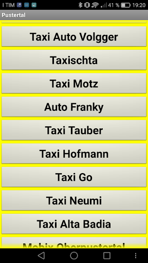 TaxiAPP Su00fcdtirol  screenshots 4