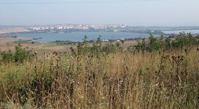 Photo: Day 97 - View of the City of Burgas (as we left)