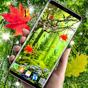 Autumn Summer Leaves Parallax 3d 🍁 Live Wallpaper icon