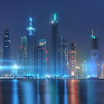 Dubai Night Live Wallpaper apk