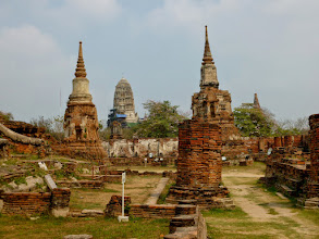 Photo: Ayutthaya was the major trading capital of Asia.  In 1700, it had the largest population of any city in the world.