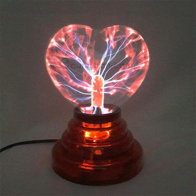 Quả cầu ma thuật Plasma hình trái tim