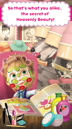 Masha and the Bear: Hair Salon and MakeUp Games  screenshots EasyGameCheats.pro 1