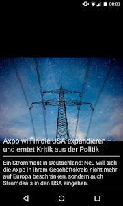 az Badener Tagblatt News screenshot 3