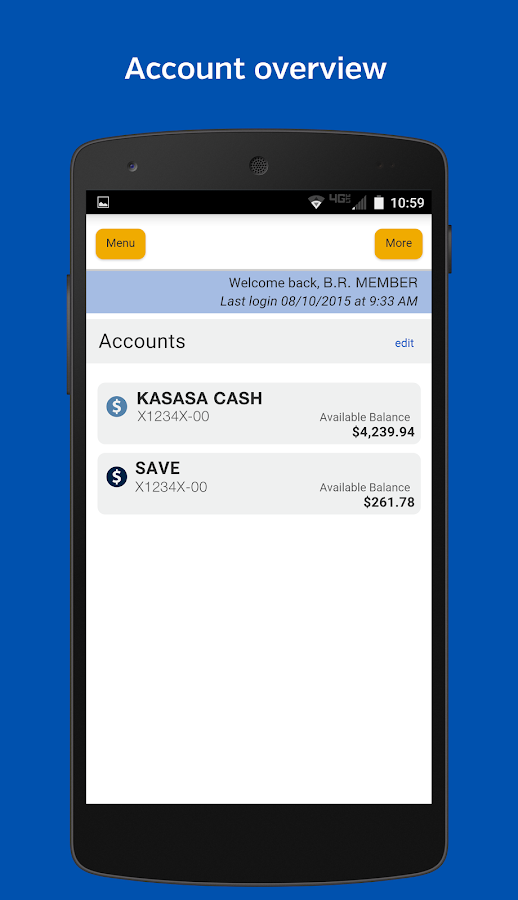 TwinStar Mobile Banking- screenshot