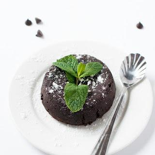 Mint Chocolate Molten Lava Cakes