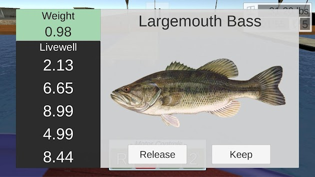 Toad Time Bass Fishing apk screenshot