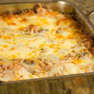 Mushroom, Beef, and Sausage Lasagna
