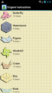 Origami Instructions- screenshot thumbnail