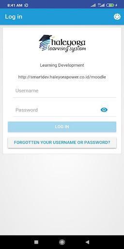 E-Learning screenshot 1