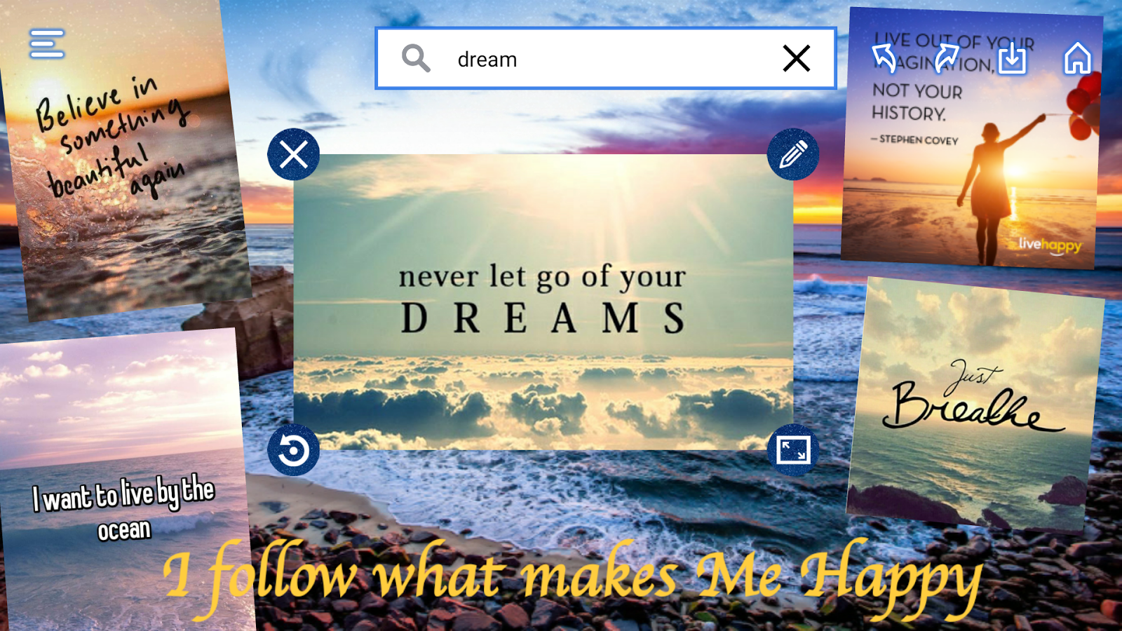Subliminal Vision Boards App- screenshot