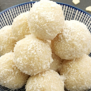 Almond and Coconut Balls.
