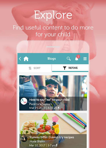 Parentune Pregnancy, Babycare & Parenting Tips App Screenshot