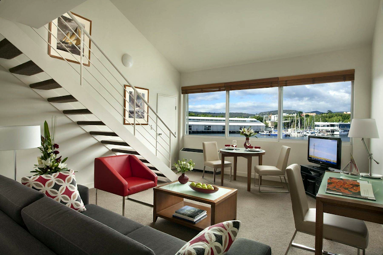living space at Somerset on the Pier Hobart
