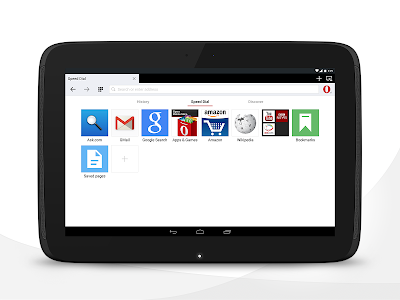 Opera browser for Android v21.0.1437.73300