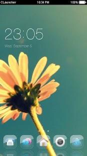 Daisy Flower Theme C Launcher - náhled