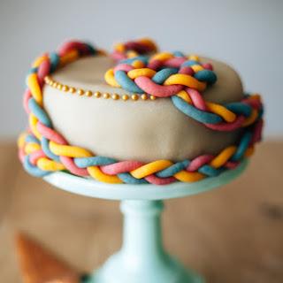 Marzipan Marzipan Blueberry Cake.