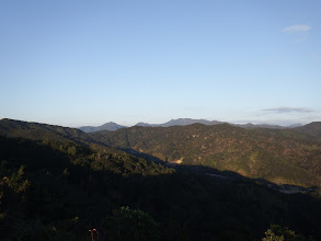 北側の景色