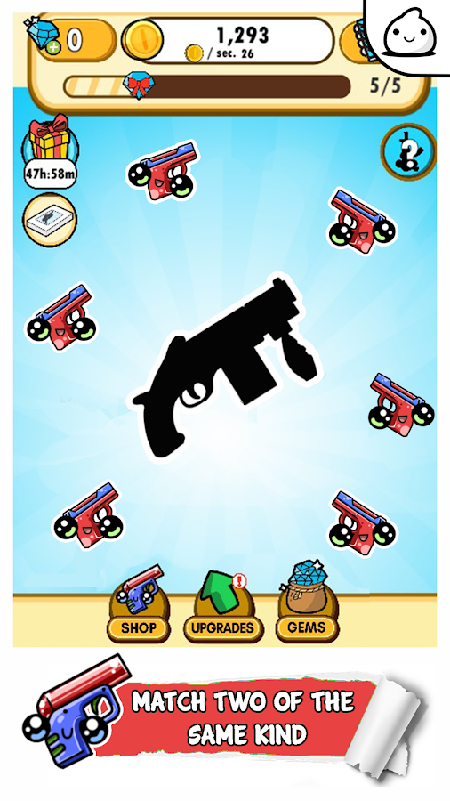 Guns Evolution - Idle Cute Clicker Game Kawaii- screenshot