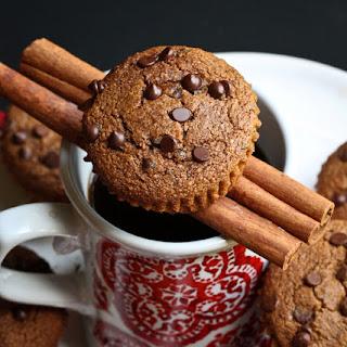 Gluten-Free Cinnamon Coffee Chocolate Chip Muffins.