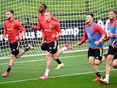 📷 Thierry Henry absent, deux joueurs du Standard présents à l'entraînement des Diables