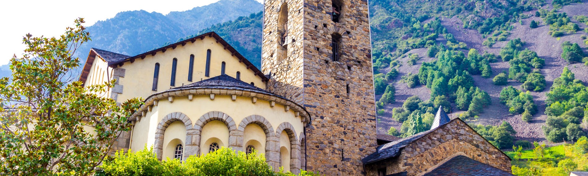 Igreja românica em Andorra la Vella