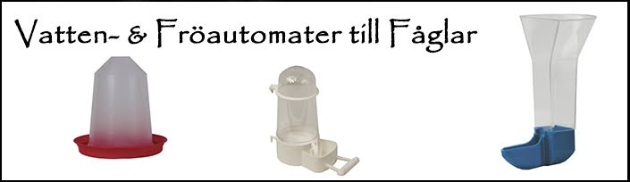 Vatten & Fröautomater