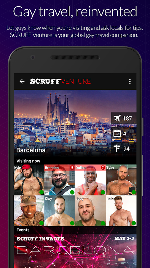 SCRUFF - Android Apps on Google Play
