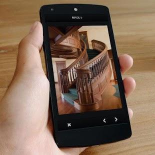Návrh dřevěných schodišť - náhled