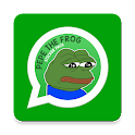 Pepe The Frog Sticker Pack for WhatsApp icon